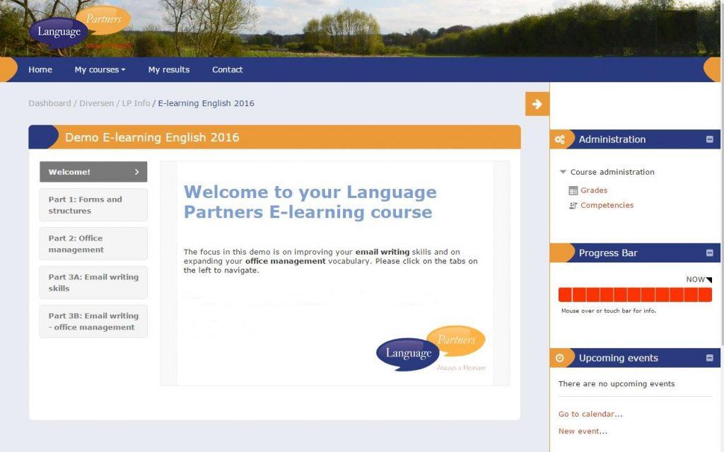 e-learning beeld