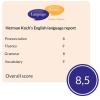 Herman Koch's English language report