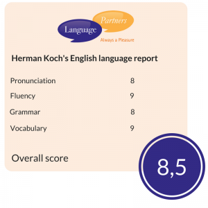 Herman Koch's English language report