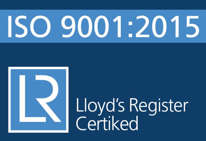 Certiked logo ISO 9001 2015