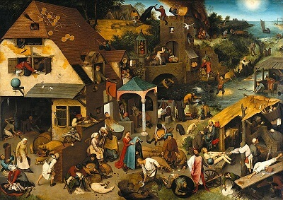Netherlandish Proverbs / Dutch language