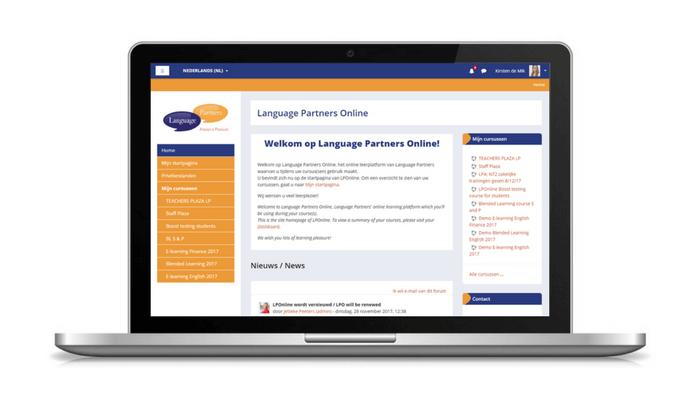 language partners online is vernieuwd